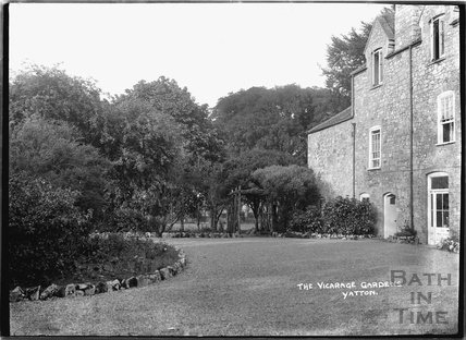 The Vicarage Gardens, Yatton, North Somerset, c.1930s