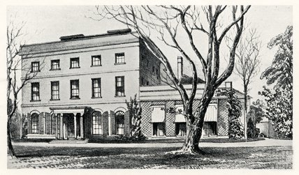 Road Hill House, now Langham House, Rode, c.1860s