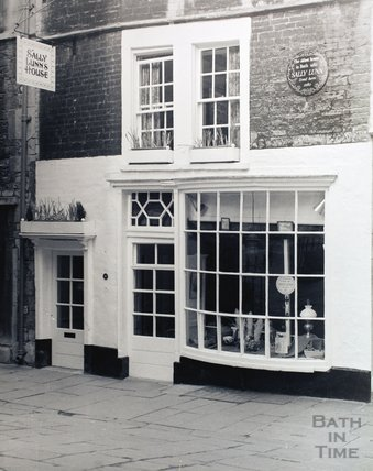 Sally Lunns, North Parade Passage, pre 1973