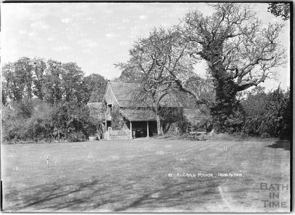 Croquet Lawn, Algars Manor, Iron Acton, Arch?, South Gloucestershire 1938