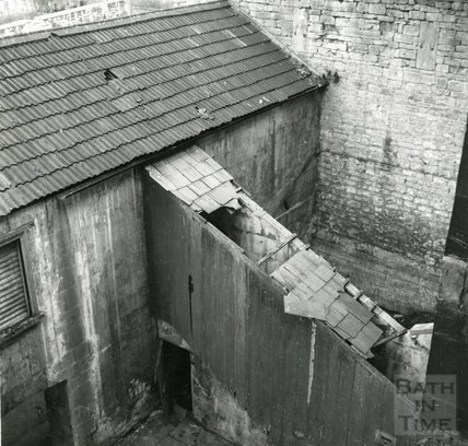 Rear of the Bath Prison 16 Grove Street 26 February 1965