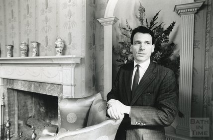 William McNaught, Director of the American Museum in Britain, February 1990