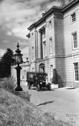 Outside the American Museum, Claverton, c.1960s