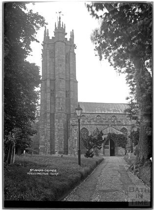 St John's Church, Wellington, Somerset c.1930s