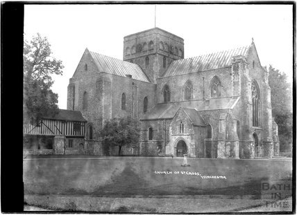Church of St Cross, Winchester, Hampshire, c.1930s