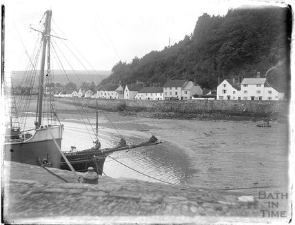 View of Quay Street from the quay, Minehead, 1926