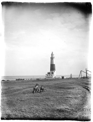 The lighthouse at Portland, Dorset, 1924