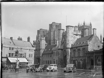 Wells Cathedral, Somerset, c.1930s