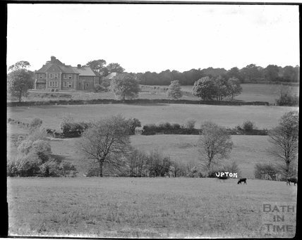 View of Upton, near Dulverton, Exmoor, 1934