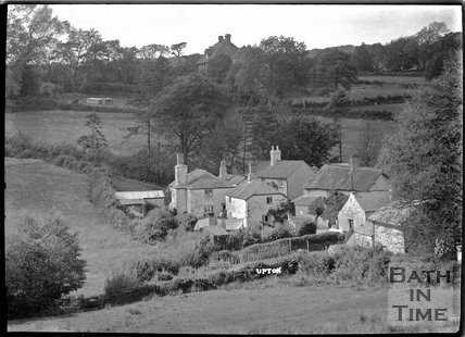 Houses at Upton, near Dulverton, Exmoor, 1934