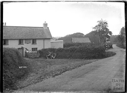 Lowtrow Cross Inn, Upton, Somerset, Exmoor, 1934
