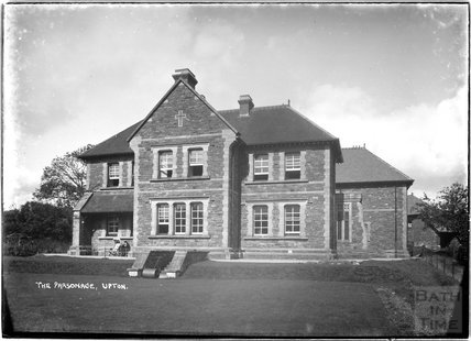 The Parsonage at Upton, near Dulverton, Exmoor, 1934