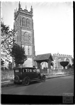 St Mary's Church, Huish Escopi, Weston Zoyland, Langport, Somerset 1931