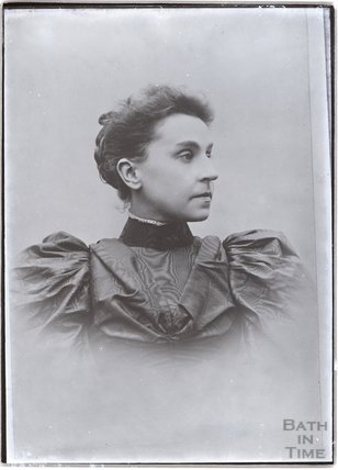Unidentified portrait of a lady c.1910