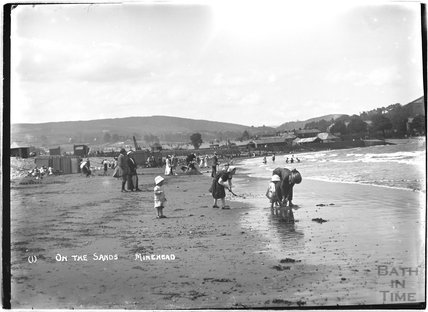 On the sands, Minehead, Somerset, no.1, c.1905 - 1915