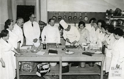 Bath Technical College Catering Class, 1960s