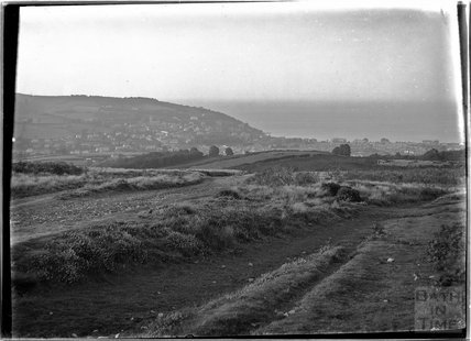 View of the landscape near Minehead, Somerset, c.1920s