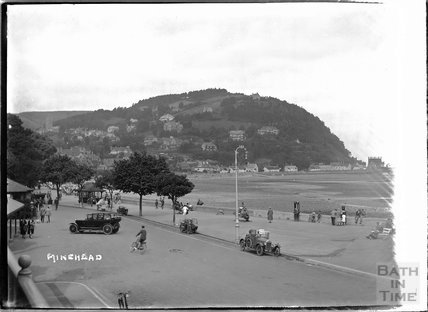The seafront at Minehead, Somerset, c.1920s