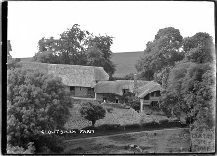 Cloutsham Farm, near Minehead, Somerset, c.1909