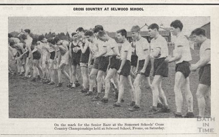 The Selwood Schools' Cross Country race, 11 Feb 1961