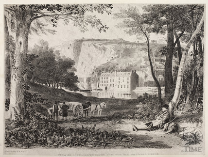 View of St Vincent's Rocks and the Old Hotwell House, Bristol c.1860s?