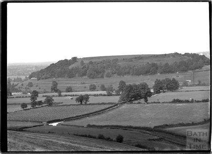 View of Cadbury Castle, Somerset c.1910