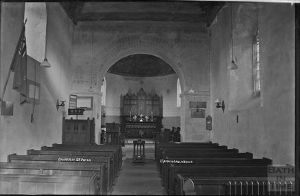 Church of St Peter, Manningfordbruce, Pewsey, Wiltshire, c.1930s