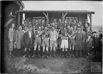 Unidentified football team, Bath c.1920s?