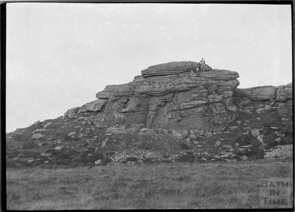 Keston Rock, Dartmoor, Devon c.1928