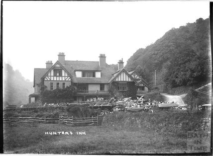 The Hunters Inn, near Heddon's Mouth, near Lynmouth, Exmoor, Devon, c.1920s