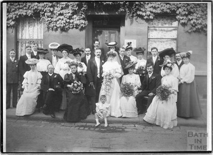Bacey Wedding group c.1910s