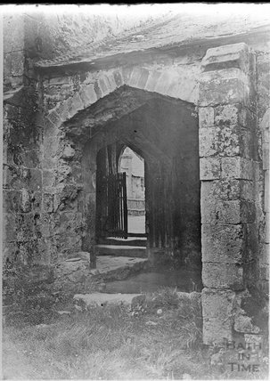 Copy of an unidentified ancient doorway c.1910