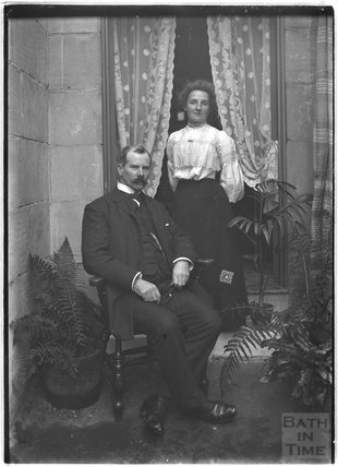 Portrait of Mr and Mrs Howe c.1900s