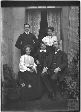 Portrait of Mr Howe and Family c.1910