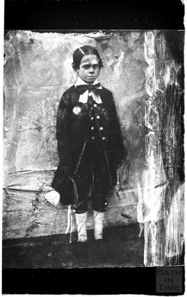 A portrait of an unknown child c.1900s