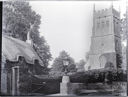 Church of St Mary the Virgin, Grittleton, Wiltshire c.1890s