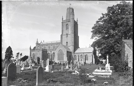 Church of St Mary, Yatton, North Somerset c.1930s