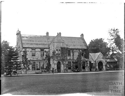 Unidentified house, possibly in Grittleton, Wiltshire c.1910s