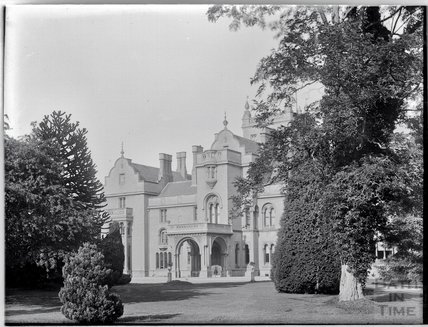 Grittleton Manor, now Grittleton House School, Wiltshire c.1910s