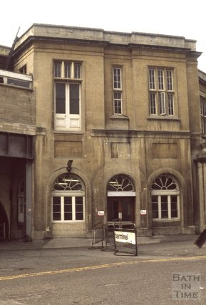 Bath Spa Station 1980