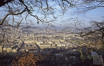 View of Bath from Beechen Cliff, 1979