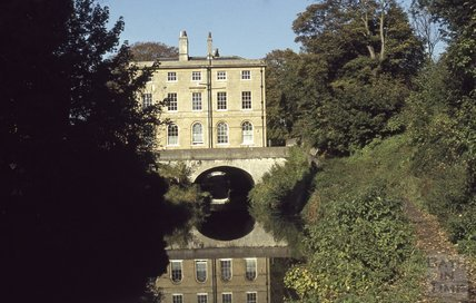 Cleveland House, over the Kennet and Avon Canal, Bath 1979