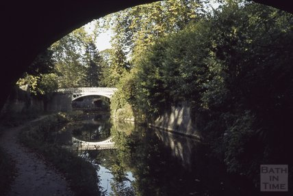Kennet and Avon Canal, Sydney Gardens, Bath 1979