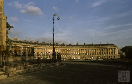 Royal Crescent, Bath, 1979