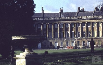 Royal Crescent, Bath 1973
