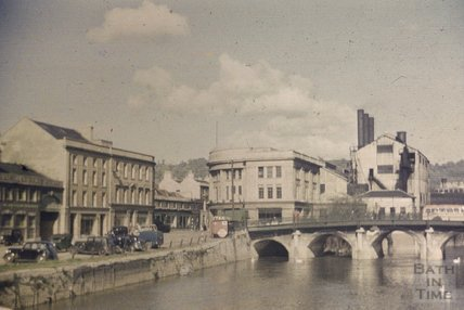 The Old Bridge, Bath, 1951 - 2