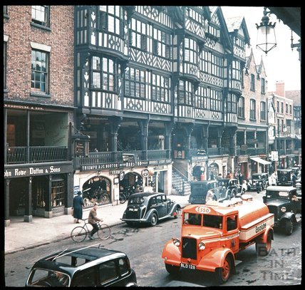 Bridge Street, Chester, c.1937