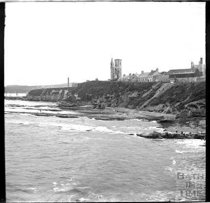 The coast at St Andrews, Scotland, c.1900