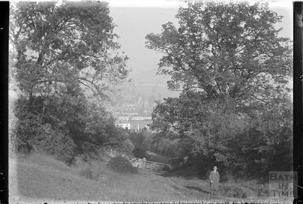 View of thought to be a part of Bath, c.1920s