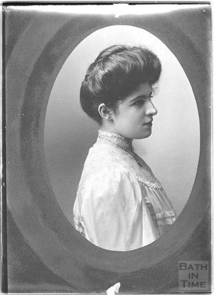 Copy of a portrait of an unidentified woman, c.1900